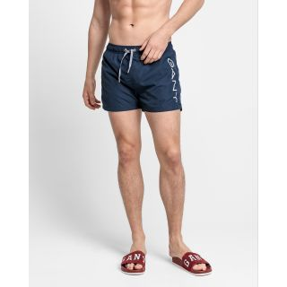 Logo Swim Shorts Lightweight / NAVY