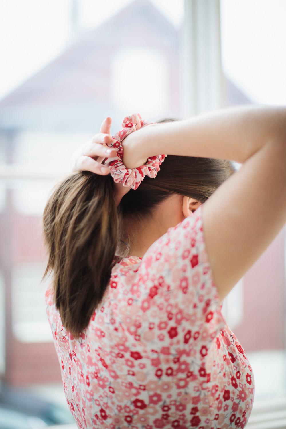 Summer 50´s Dress Red Flowers