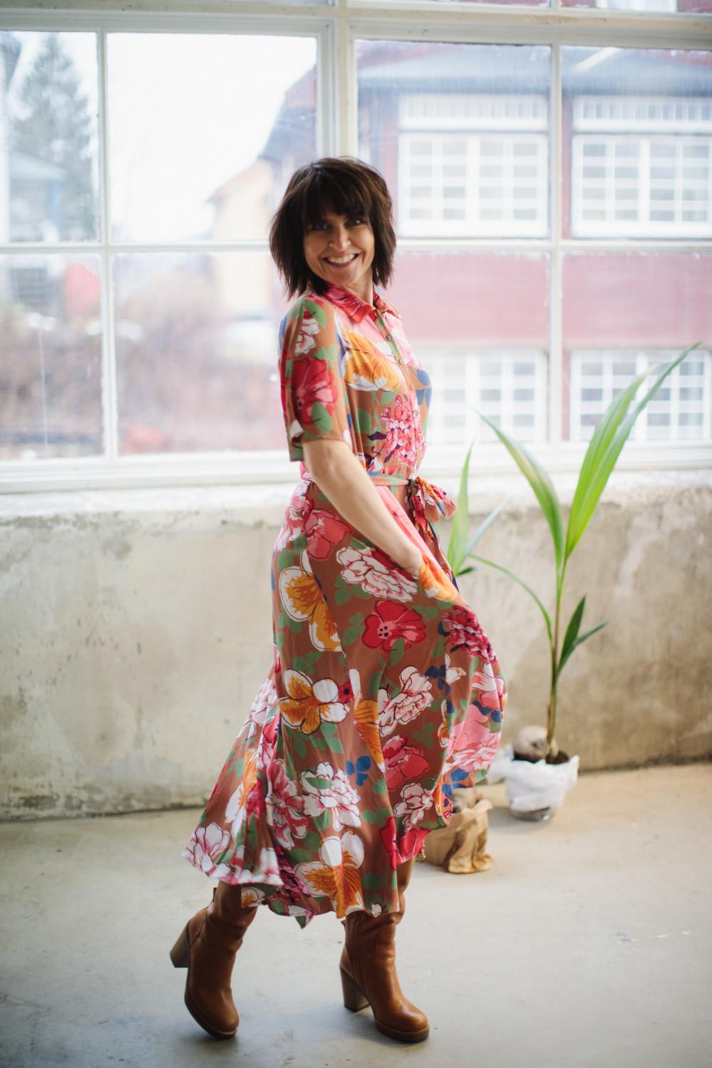 Summer Maxi Shirt dress, Summer Memoirs