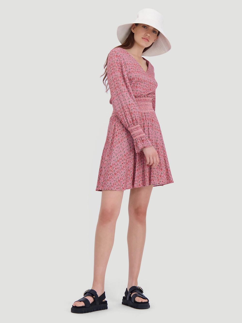 Stien Dress Pink Print