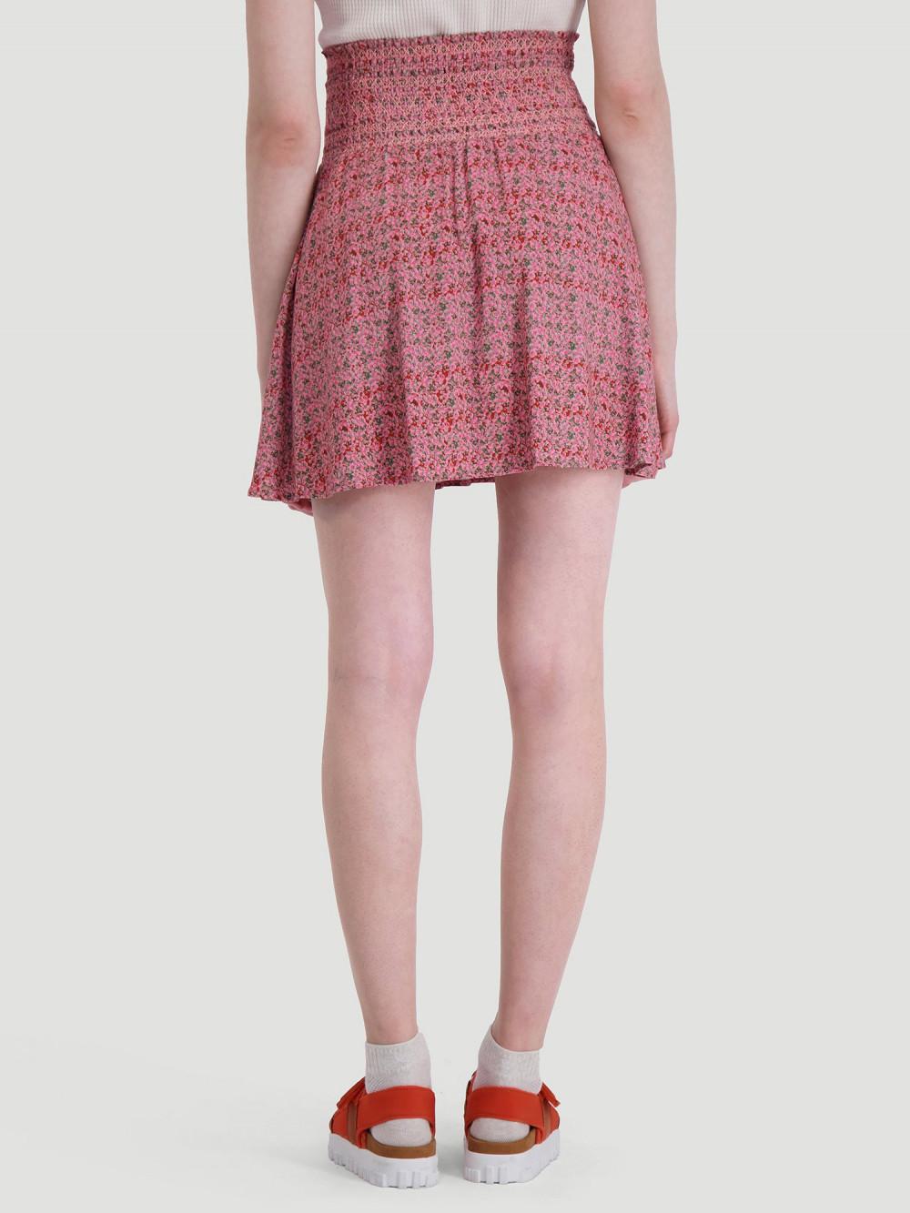 Disen Skirt Pink Print Small