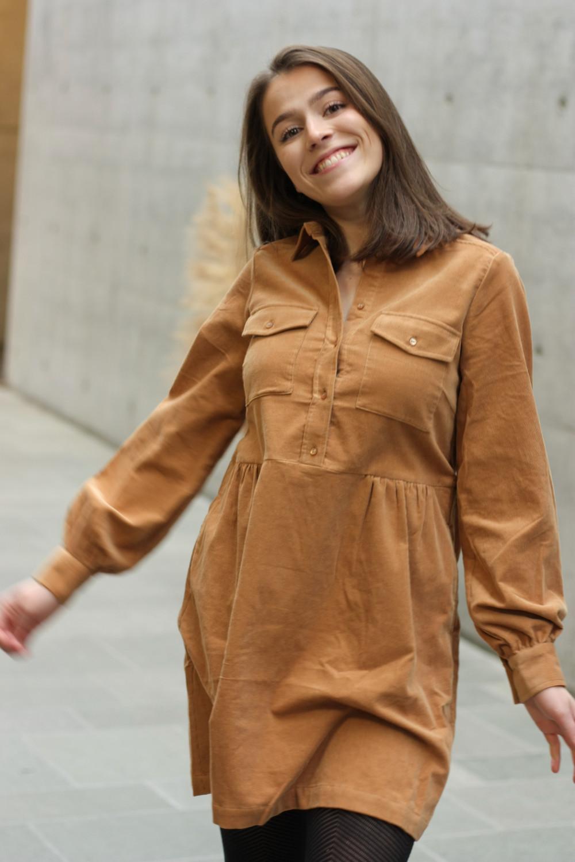 Aicha Dress Chipmunk