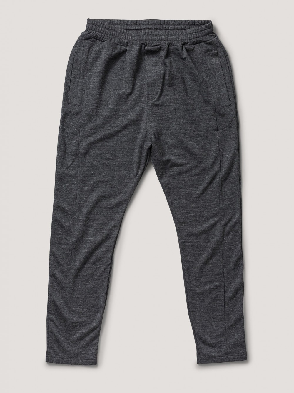Sort  Base Wool Pant  Greater Than A  Joggebukser - Herreklær er billig