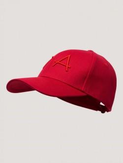 Base cap, red