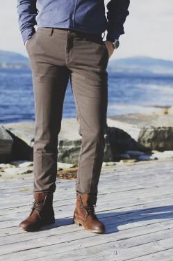 Rick Trouser - mørk brun