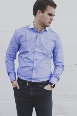 FARRELL 6 - Blue Stripes
