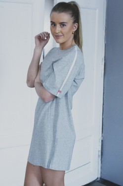 Nightshirt ss Grey Heather