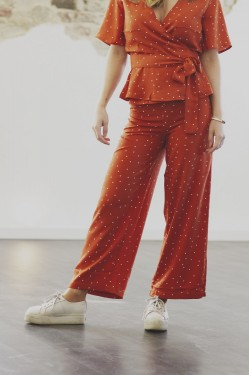 Fancy trousers, Terracotta