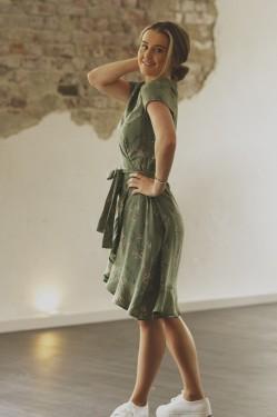 Palm dress, Army Flower