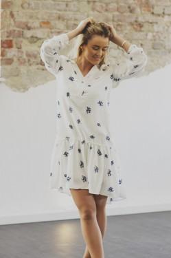 Slow dress, White Flower