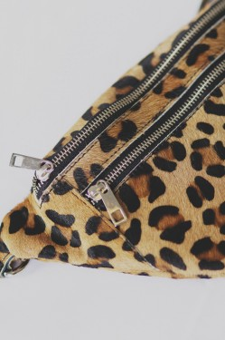 Faust Fur Bag Leopard