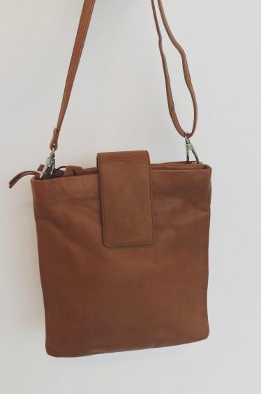 Elia bag small, COGNAC