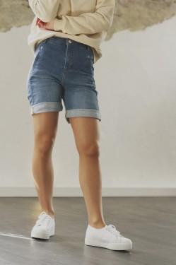 Jolie Shorts 455 Straight Destruct Raini