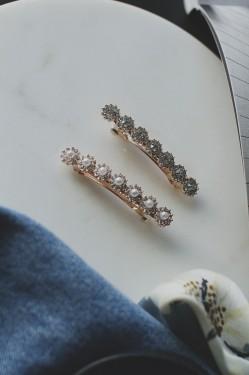 Hårspenner 2 pk crystal, 15043