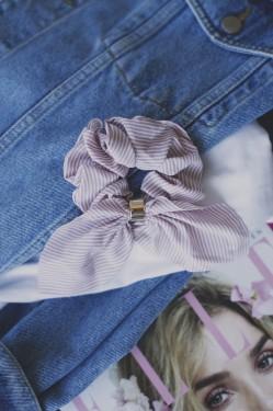 Hair Scrunchie Rosa, 15033
