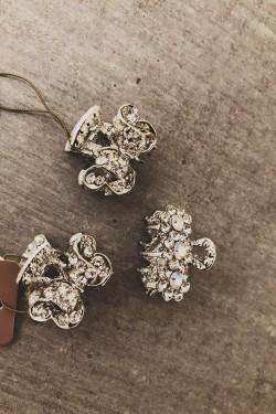 Hårklype sølv, 28264