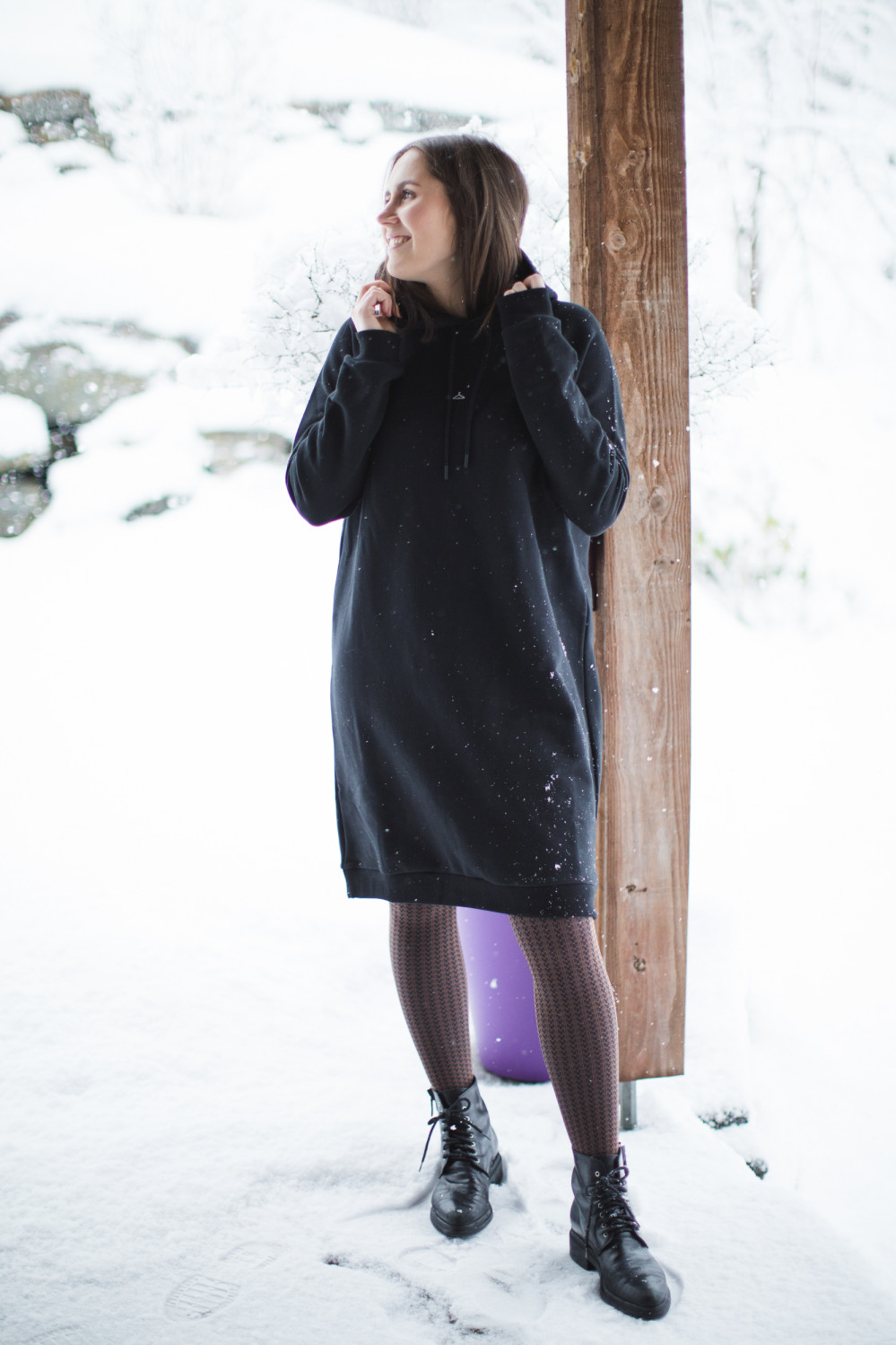 Hang Wide Dress Black