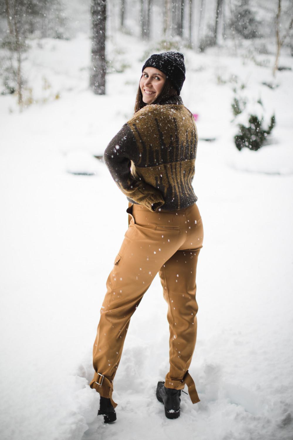 SKUNK trouser camel