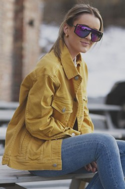 Cornelia Jacket, Yellow