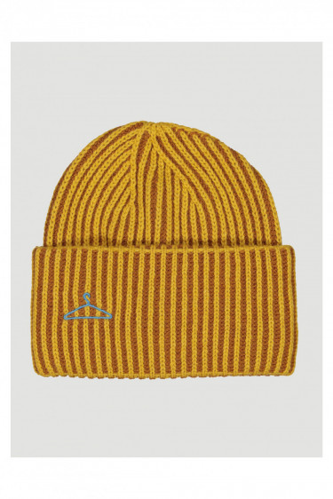 Hypnotized Beanie, yellow