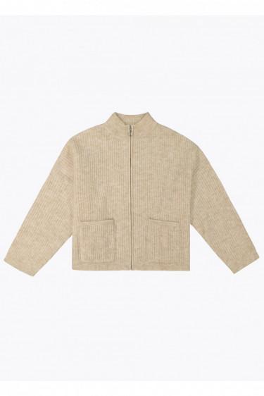 Penguine knit, beige melange