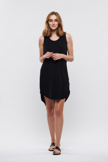 Mellas dress BLACK
