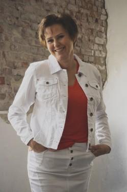PzSuvi Jacket, optical white