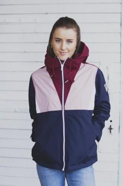 Dublin Jacket PINK/BURGUNDY