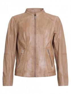 Mirna leather Jacket Comfort, Brown
