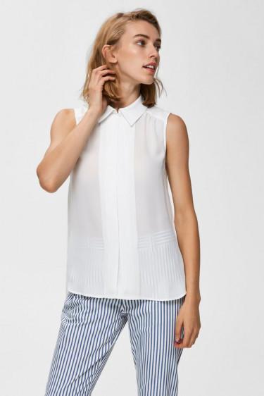 Cardie sl shirt, white creme