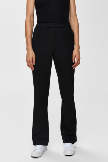 Jamie mw flared pant, black