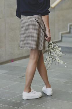 Margery hw short skirt