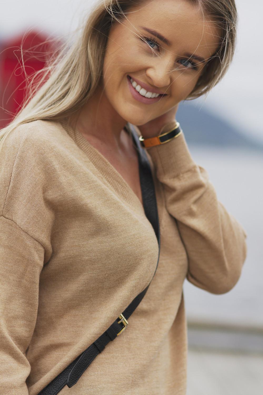ThelmaGZ pullover AO19, Camel melange