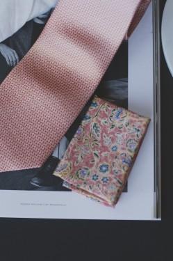 Tie & Pocket Square, ORANGE