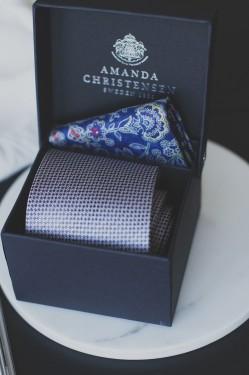 Tie & Pocket Square NAVY