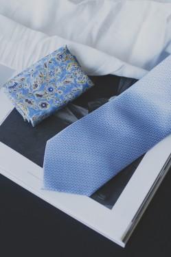 Tie & Pocket Square SKY BLUE