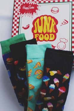 Junkfood socks, gift box