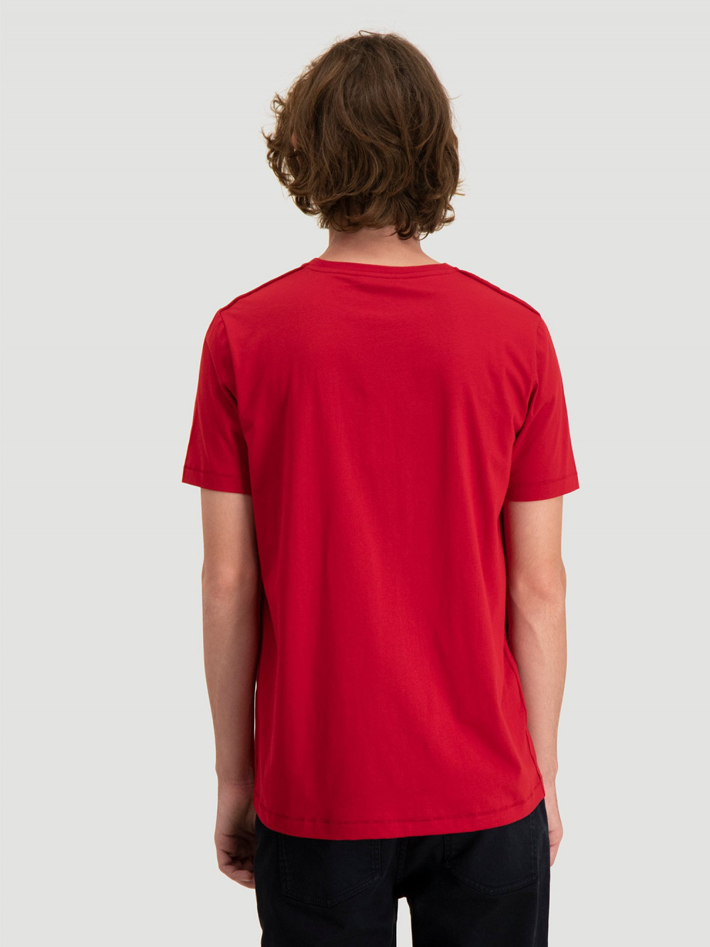 Hanger tee, red