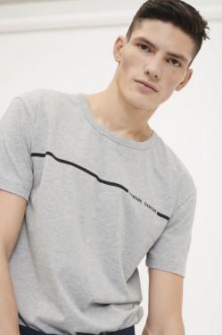 Bogense t-shirt 273, GREY MELANGE