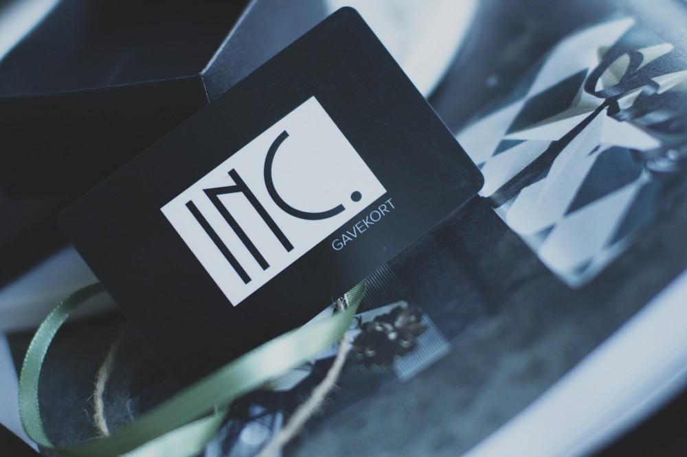 Gavekort hos INC