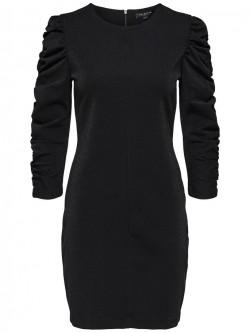 Geth 3/4 dress, black