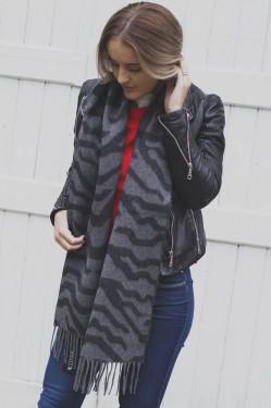 Sizan Scarves - Grey Melange
