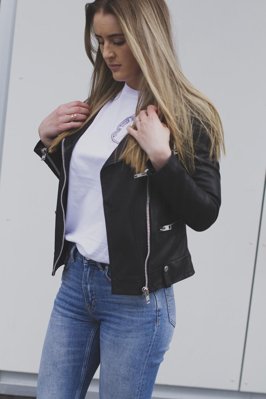 New Abi leather jacket