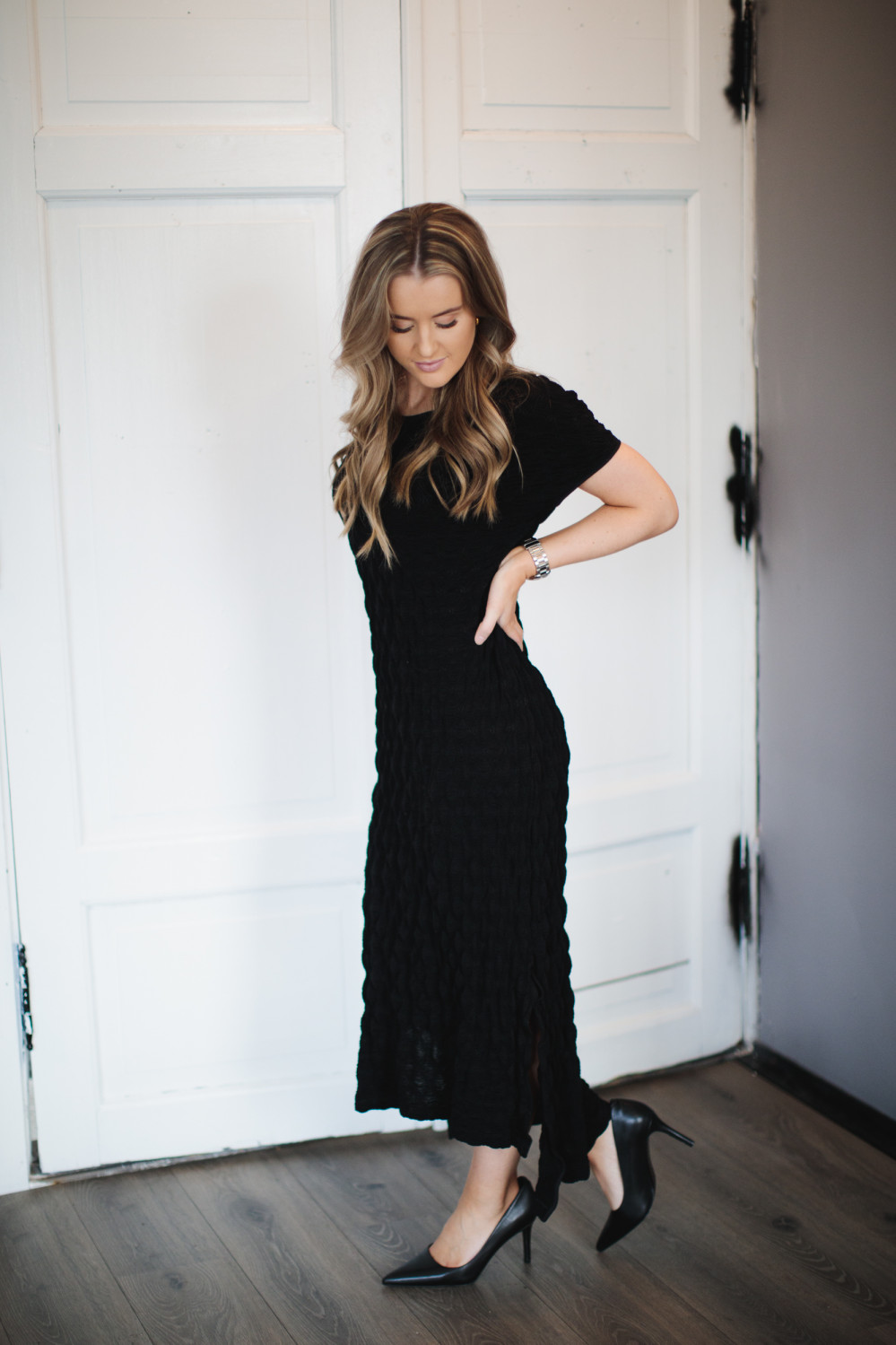 Gate Dress, Black