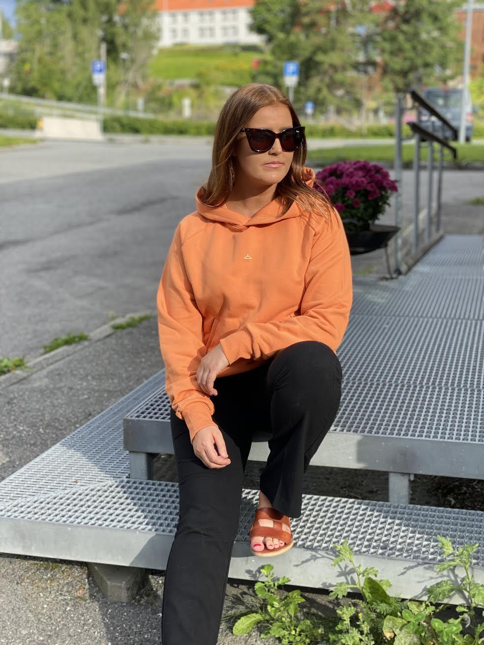 Hang On Hoodie Orange