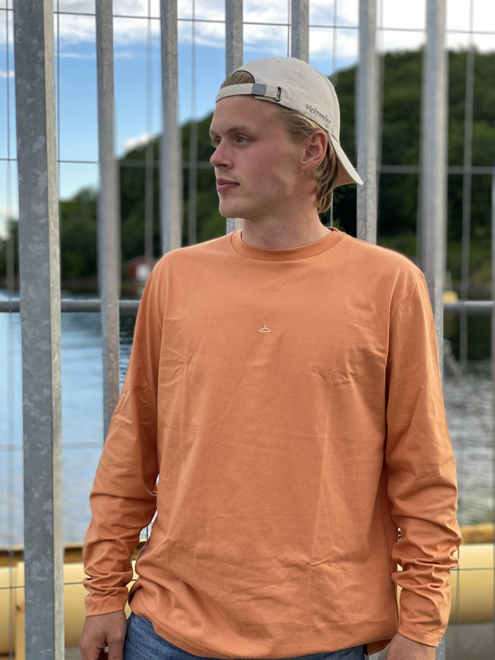 Hanger Longsleeve Orange