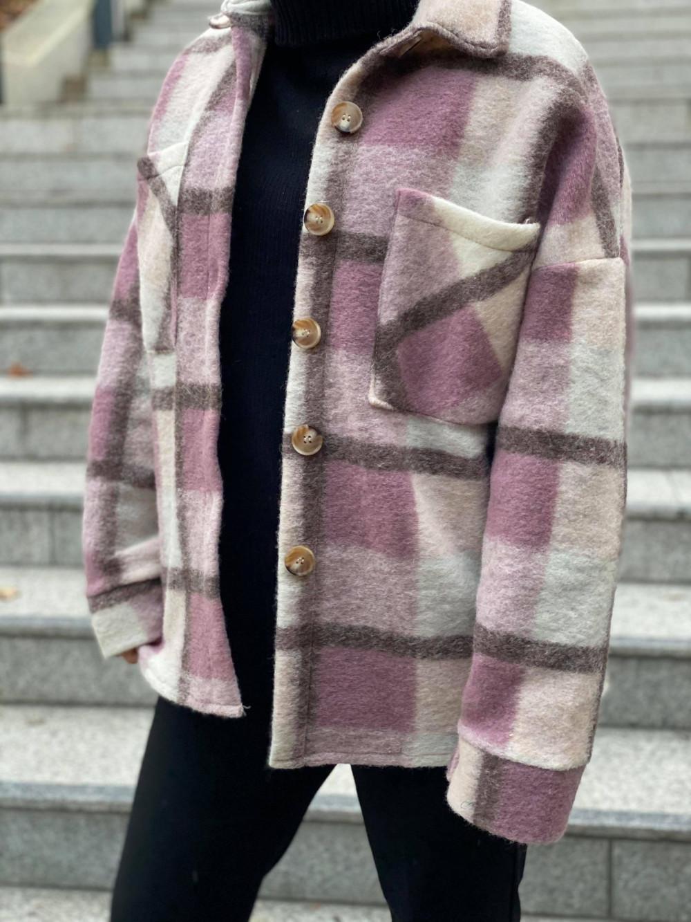 Kiri Jacket - Dusty Plum