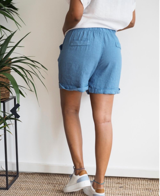Lotta Shorts Denim Blue