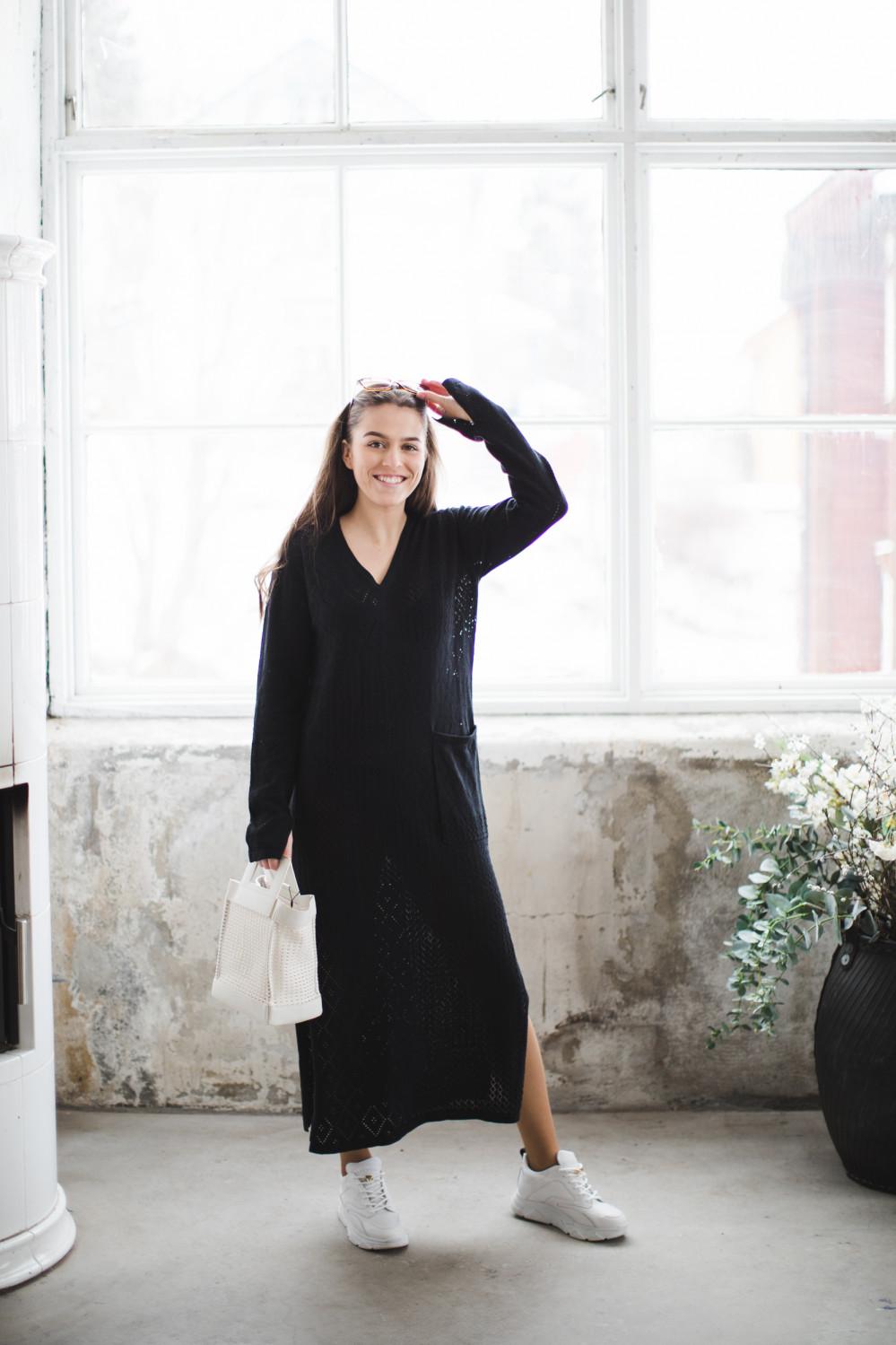 Nim dress black