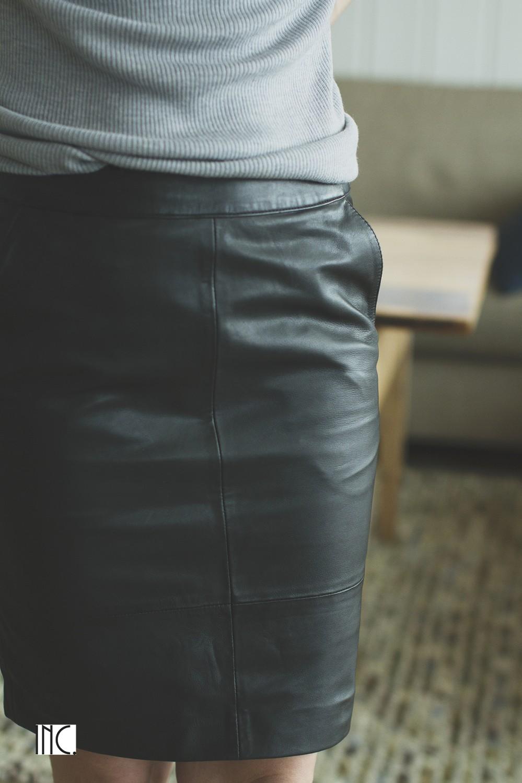 Char Mini Skirt